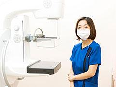 マンモグラフィ・腹部エコー・心電図は全て女性技師が対応しております。
